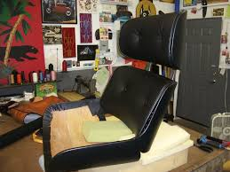 Plycraft Eames Chair Plycraft Eames Lounge Style Chair Redo Vinyl Lux