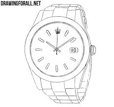 How Ro How To Draw A Rolex Drawingforall Net