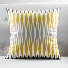 Modern Grey Geometric Cushion Cover Zebra Aztec Stripes Throw