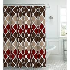 Burgundy Shower Curtain Liner Curtain Idea