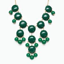 emerald green fashion necklace images Bubble necklace emerald green bib necklace with cascading baubles jpg