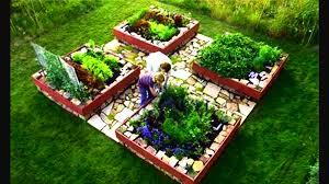 raised wooden garden planters home design inspirations