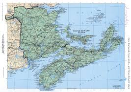 Physical Map Of North America by New Brunswick Mapfree Maps Of North America