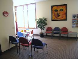 dr janina braun dental office affordable and colorful waiting