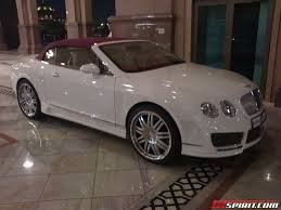 mansory bentley mulsanne spotted mansory continental gt convertible in abu dhabi