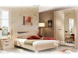 chambre à coucher chêtre chambre a coucher adulte bois chene et gris