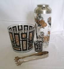 classic barware 52 best midcentury modern glasses usa images on pinterest