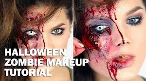 halloween zombie bride makeup halloween zombie makeup tutorial with subs linda hallberg