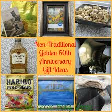 traditional 50th anniversary gift save green being green non traditional golden 50th wedding