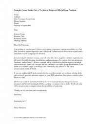 cover letter cover letter for it support cover letter for it