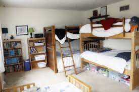Small Rooms With Bunk Beds How Five Boys Share One Bedroom My Blessed Home
