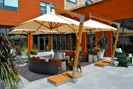 Big Umbrella For Patio Restaurant Cafe Umbrellas Bambrella Usa Sales Office Market