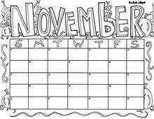 november coloring coloring pages coloring