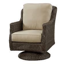 Swivel Wicker Patio Chairs by Wildon Home Swivel Rocker Chair With Cushion Patio Furniture