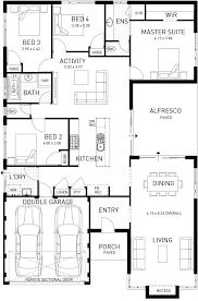 Single Floor Plan by Semillon Single Storey Foundation Floor Plan Western Australia