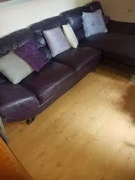 Purple Corner Sofas Deep Purple Corner Sofa In Shirley West Midlands Gumtree