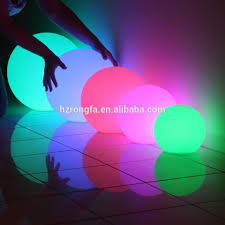 solar crackle glass ball led light color changing led ball buy