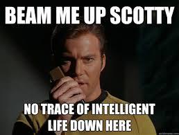 Scotty Meme - intelligent webups