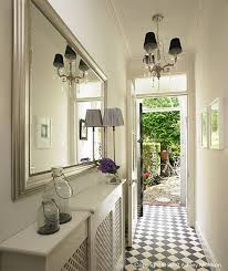 Hallway Mirrors Like The Look Of Radiator Cover Grating Would Be To Diy A