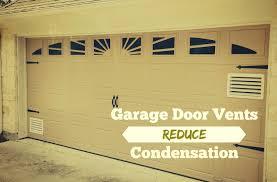 Overhead Garage Door Cincinnati by How To Install Vents On A Garage Door Neighborhood Garage Door