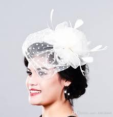 lace fascinator hot sale birdcage veil wedding hat bridal fascinator hairband
