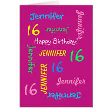 girls 16th birthday cards u0026 invitations zazzle co uk