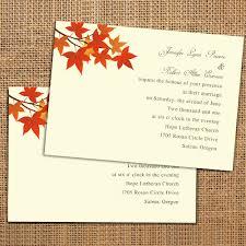 cheap fall wedding invitations simple fall leaves wedding invitations ewi240 as low as 0 94