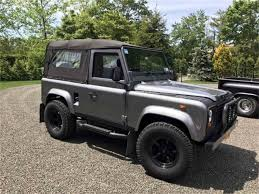 new land rover defender 2016 1987 land rover defender for sale classiccars com cc 994468