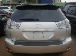 lexus rx 350 price in nigeria ncs impounded 2008 lexus rx350 for auction at give away price due to