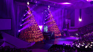 singing christmas trees at first baptist church of orlando youtube