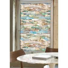 Decorative Window Decals For Home Artscape 24 In X 36 In Terrazzo Decorative Window Film