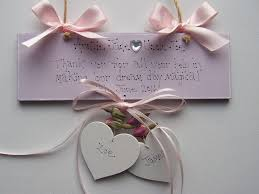 wedding gift keepsakes personalised wedding thank you plaque keepsake gift sign