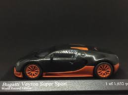 toy bugatti bugatti veyron super sport world record edition toy car die cast