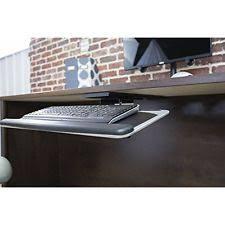Mouse Platform Under Desk Vivo Adjustable Computer Keyboard U0026 Mouse Platform Tray Under