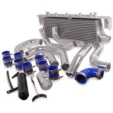 subaru wrx engine turbo front mount intercooler kit fmic kit for subaru impreza turbo gda