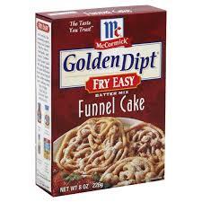 mccormick golden dipt fry easy funnel cake batter mix shop