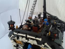 the red dragon 62 gun pirate ship of the line pirate mocs