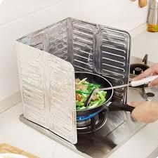 plaque aluminium pour cuisine plaque anti projection de huile anti chaleur en papier d aluminium