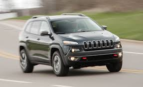 trailhawk jeep green 2016 jeep cherokee u2013 review u2013 car and driver