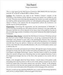 trip report template travel report example downloadable trip