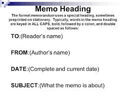 memo essayformal memo human resources formal memorandum template