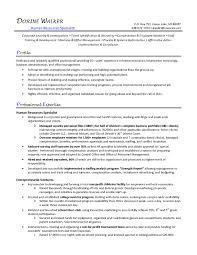 recruitment specialist resume hr specialist resumes templates franklinfire co