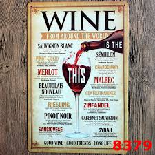 Home Decor Plaques Compare Prices On Wine Plaques Online Shopping Buy Low Price Wine