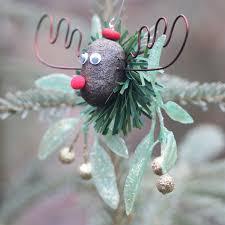 the alaska mooseltoe ornament