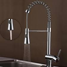 nice modern kitchen faucet on contemporary solid brass pull out
