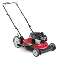 yard machines 21 in 140cc ohv briggs u0026 stratton walk behind gas