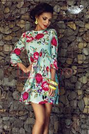 inpuff rochii http www inpuff ro produs rochie scurta imprimeu colorat 1