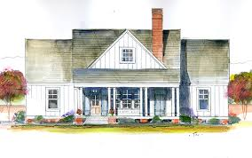magnolia cottage southern living homes plan sl 1845 small