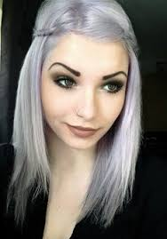 salt and pepper hair with lilac tips 28 best gray hair i want it images on pinterest plaits