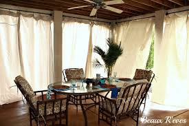 Cabana Curtains Beaux R U0027eves No Sew Outdoor Curtains